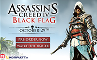 Assassins Creed Black Flag bannerkampagne - Ubisoft